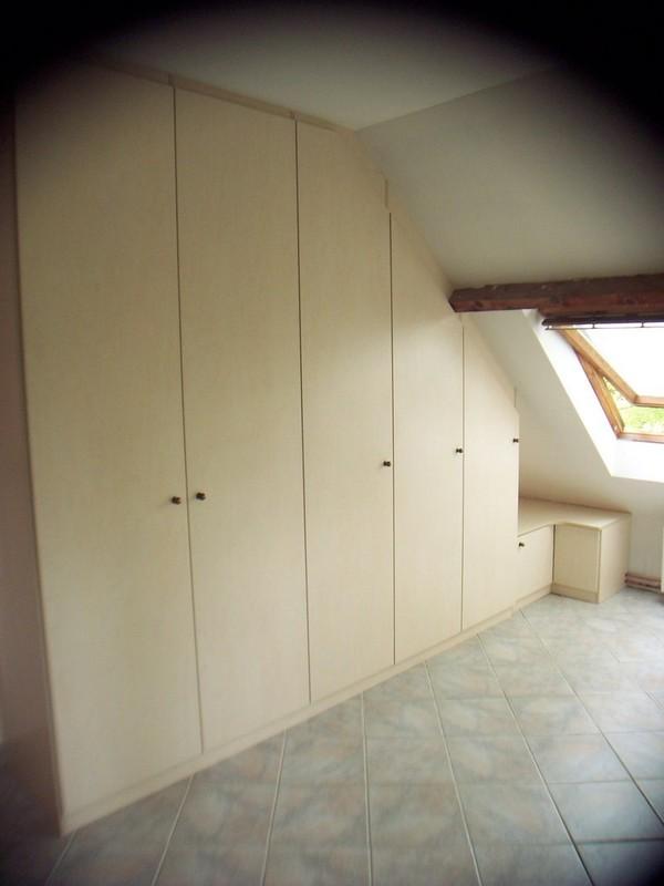 cr ations de placards sous pente les cr ations de pascal. Black Bedroom Furniture Sets. Home Design Ideas